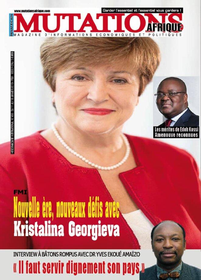 Magazine panafricain Mutations Afrique