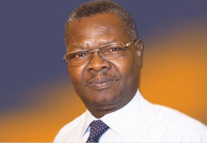 Gabriel Agbéyomé Messan Kodjo, président du Mouvement patriotique pour le développement et la démocratie (MPDD), (ex-Obuts) , candidat à l'élection présidentielle