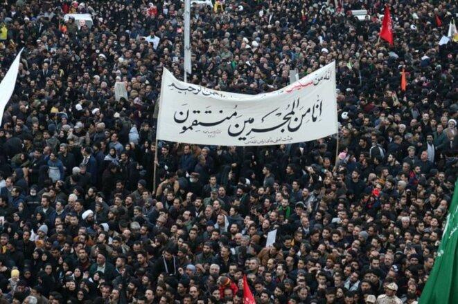 Des milliers de personnes dans la ville sainte de Mashaad © Isna Photo