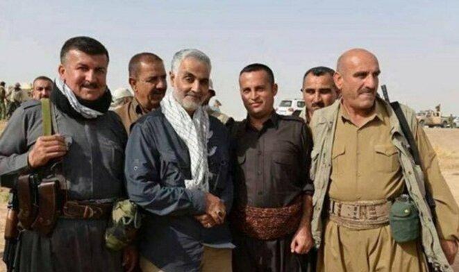 Le 21 novembre 2017, Qassem Soleimani a officiellement annoncé la fin de Daech © facebook