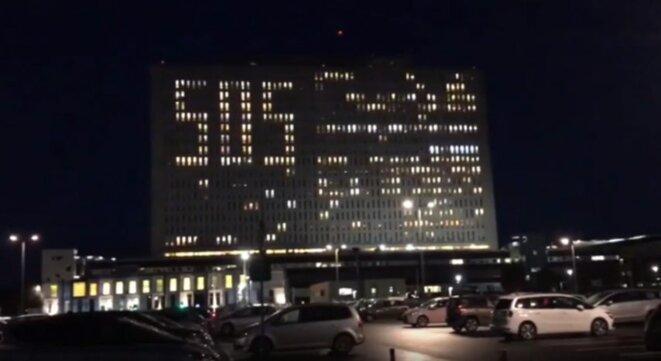 SOS Lumineux au CHU de Caen le 29 novembre 2019