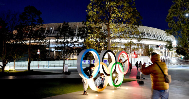 Le stade olympique de Tokyo. © The Yomiuri Shimbun