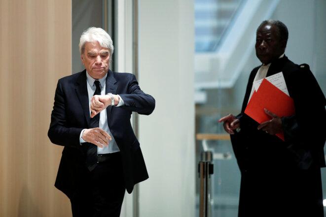 Bernard Tapie, le 1er avril 2019 au tribunal de Paris. © Benoit Tessier/Reuters