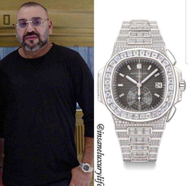 Le Roi Mohammed VI : Ses montres volées