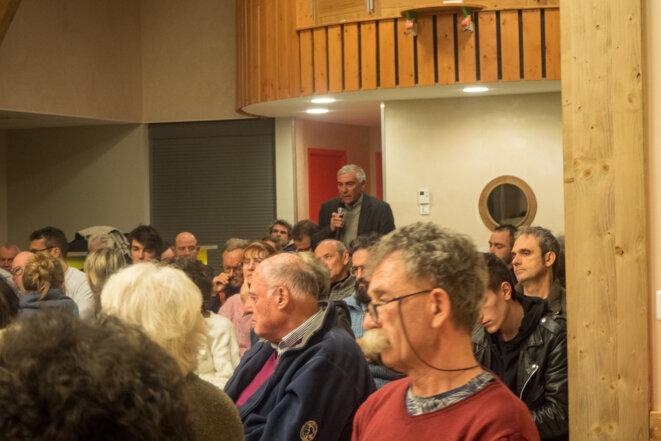 Michel André, maire des Déserts (73) © plbillot
