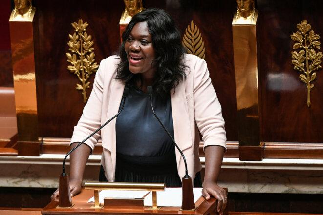 Laetitia Avia à l'Assemblée le 3 juillet 2019. © AFP