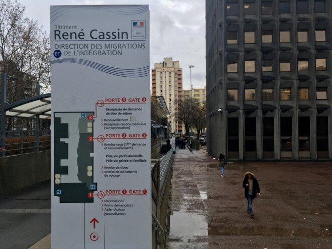 Entrée de la préfecture de Bobigny (Seine-Saint-Denis) © NB