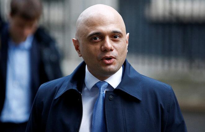 El ministro de Finanzas británico Sajid Javid el 8 de enero de 2020. © Reuters/Henry Nicholl