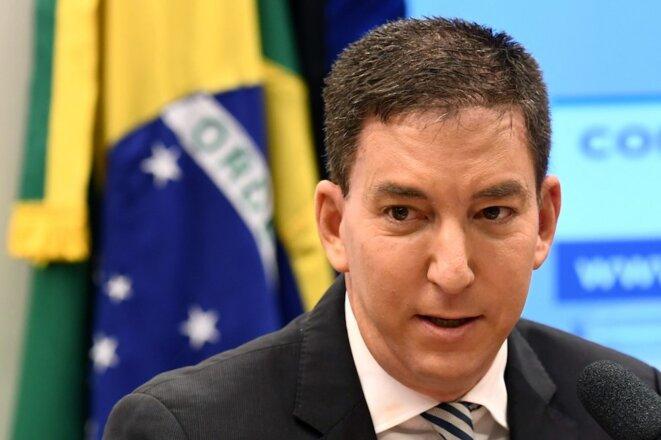 Le journaliste Glenn Greenwald, le 25 juin 2019. © Evaristo SA / AFP