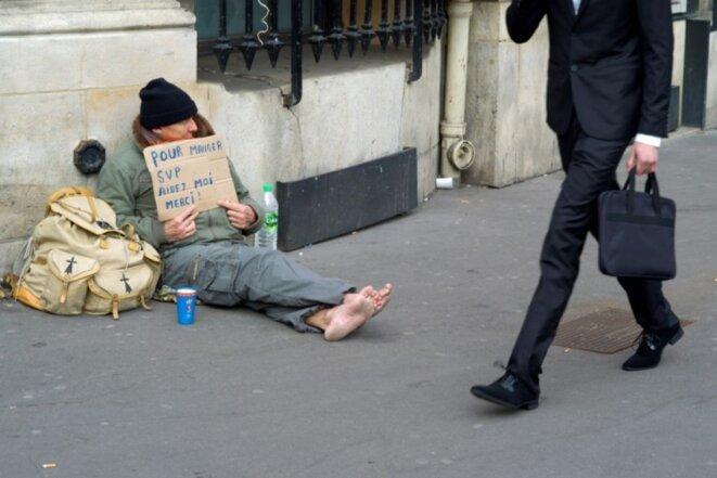 La pauvreté toujours plus grande ... © Pierre Reynaud
