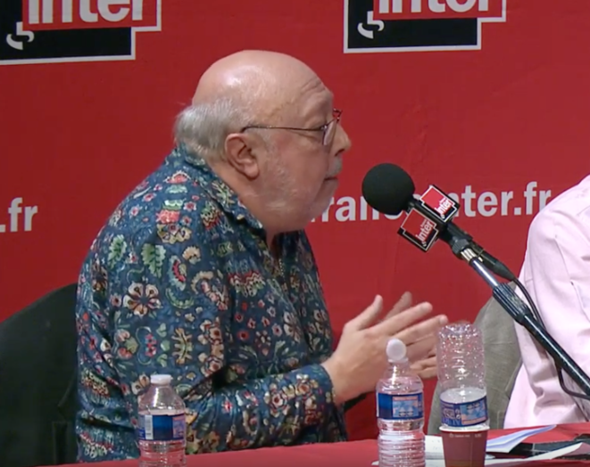 Pierre Murat, lors de l'émission du 20 septembre 2018.