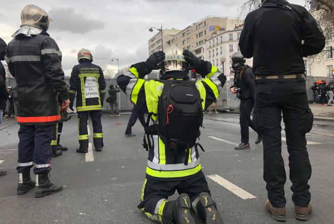 À Paris, porte de Vincennes. © CG
