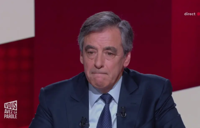 François Fillon sur France 2 © Capture d'écran