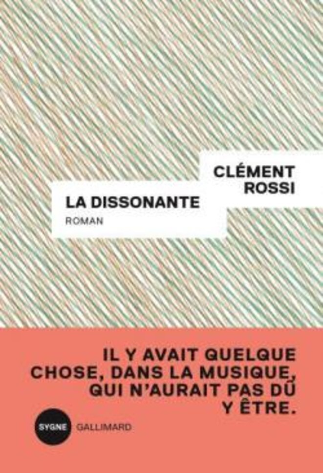 La dissonante, roman © Pascal Guédin