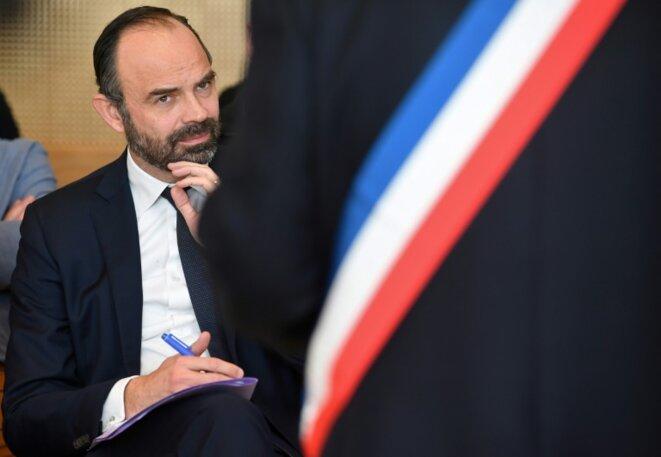 Edouard Philippe est candidat à la mairie du Havre (Seine-Maritime) © AFP