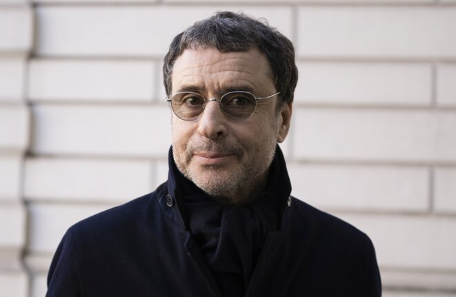 Alexandre Djouhri, le 26 février 2019, à Londres. © Niklas Halle'n/AFP