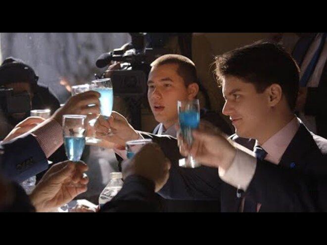 Capture d'écran du film.