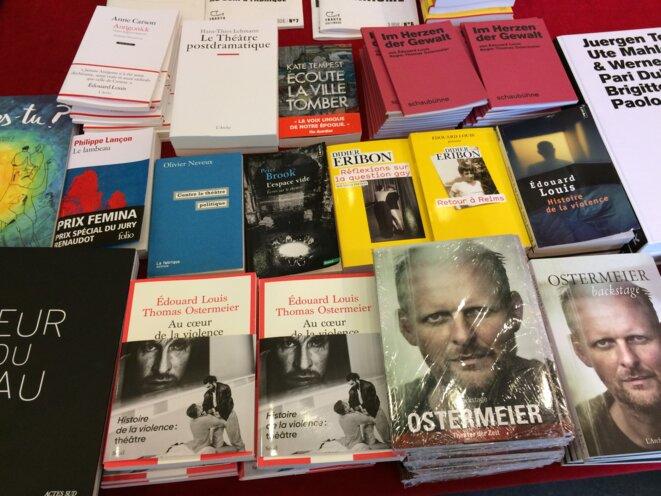 Des livres, Théâtre des Abbesses, Paris, Février 2020 © Max Fraisier-Roux