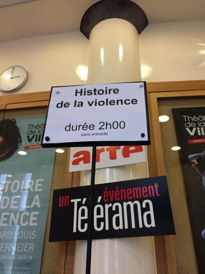 Histoire de la violence, Théâtre des Abbesses, Paris, Février 2020 © Max Fraisier-Roux