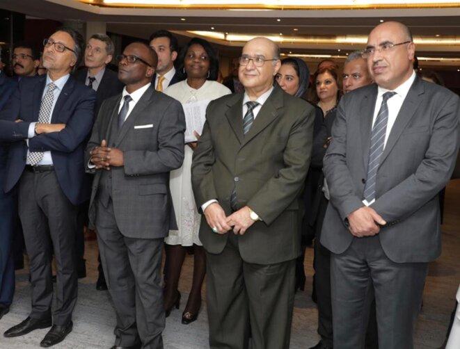 Jeudi 30 janvier 2020 - UNESCO - Réception d'adieu en l'honneur du Prof Ibrahim ALBALAWI