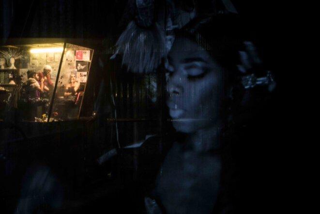 """""""Nickel"""", m. e. s. et co-écriture de Mathilde Delahaye, co-écriture de Pauline Haudepin, pièce créé le 5 novembre 2019 au  Centre dramatique national de Tours - Théâtre Olympia © Jean-Louis Fernandez"""