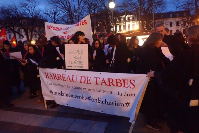 Pour un droit à la retraite et non un retrait du droit - Barreau de Tarbes © ©AB