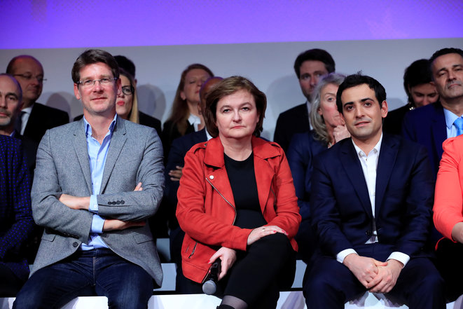 Les eurodéputés Renaissance. © Reuters