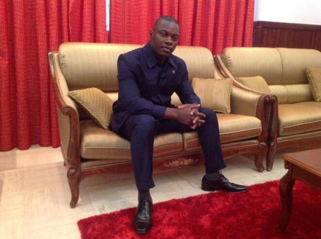 Le Commandant Jean Baptiste Kouamé, injustement embastillé en ce mois de février 2020 par le tyran Ouattara en Côte d'Ivoire.