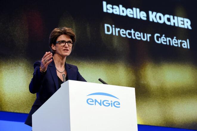 Isabelle Kocher, ex-directrice générale d'Engie © Eric Piermont/ AFP