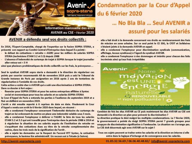 régularisation cotisations retraites depuis 1988 © AVENIR sopra steria