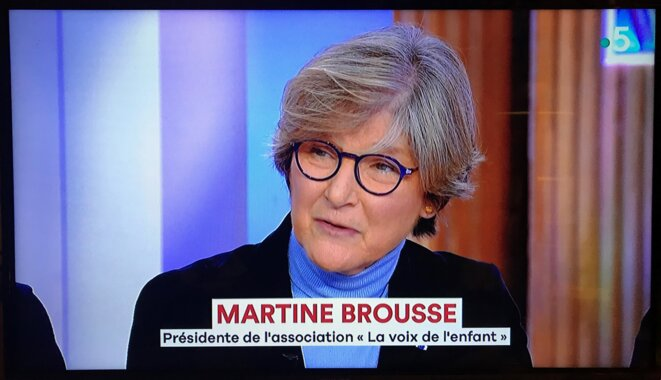 Martine Brousse [capture d'écran]