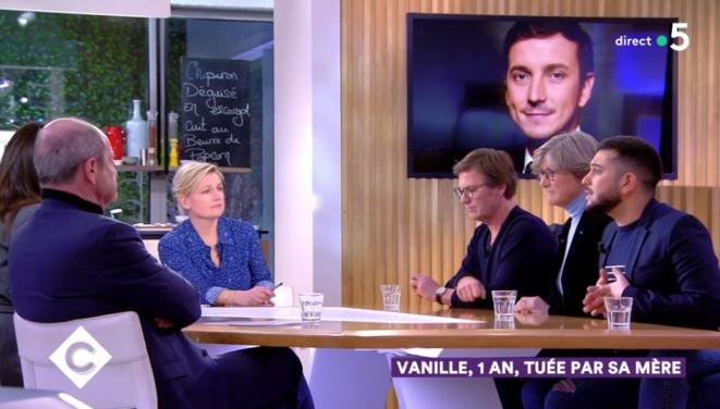 """Adrien Taquet confondu par """"C à vous"""" avec Aurélien Taché [capture d'écran]"""