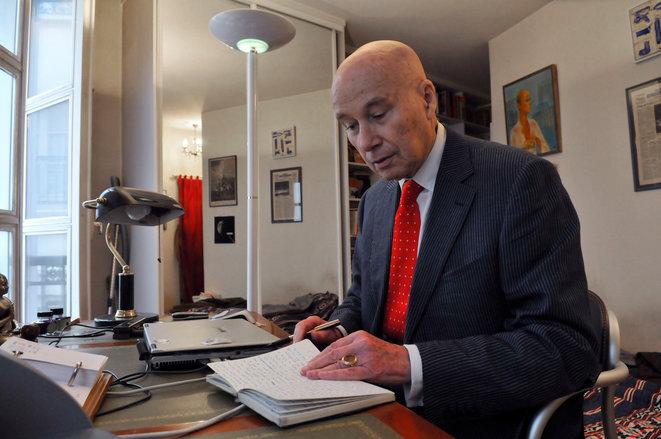 El escritor francés Gabriel Matzneff. © Marc Charuel