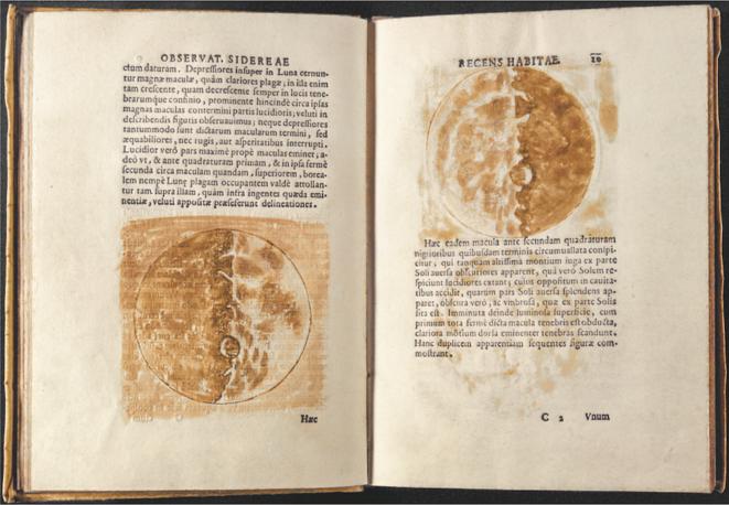Sidereus nuncius (1610). © DR