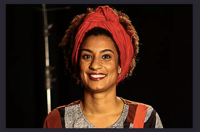 Marielle Franco, assassinée le 14 mars 2018