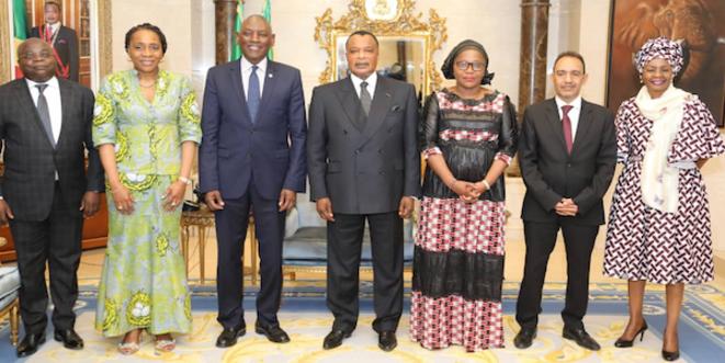 Denis Sassou N'Guesso a reçu en audience Mr Mabingue Nom, Directeur régional Afrique du FNUAP