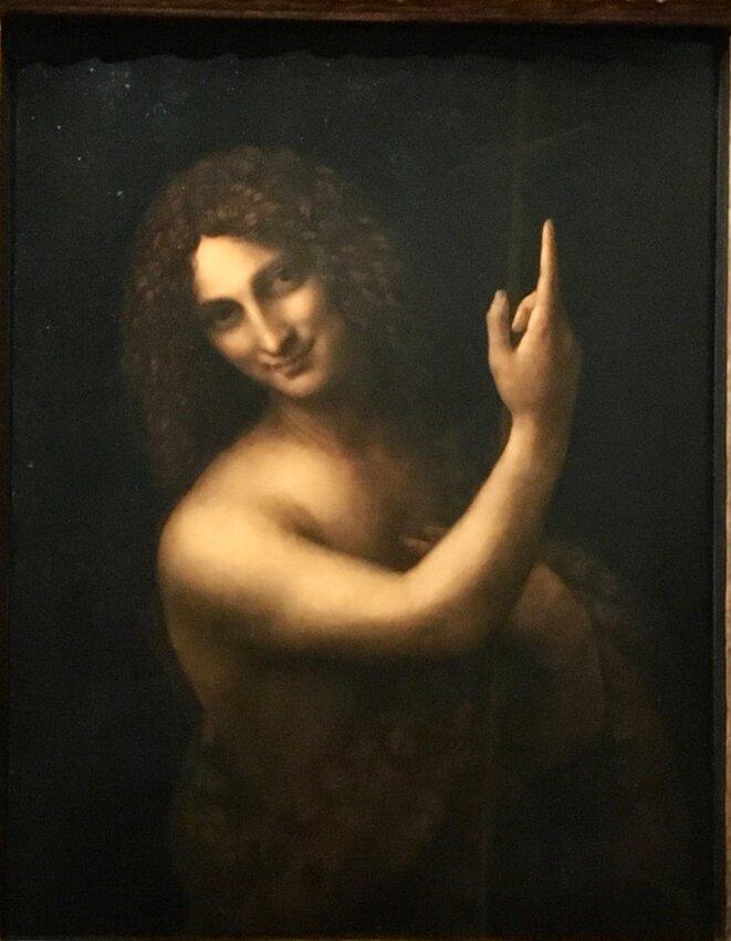 Saint Jean Baptiste, par Léonard de Vinci