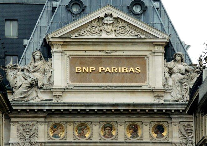 Le siège parisien de la BNP. © Rolf Haid/Picture alliance/AFP
