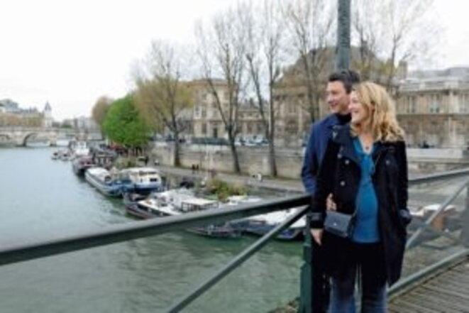 Paris-Match: Julia et Paris, les deux amours de Benjamin Griveaux © PM