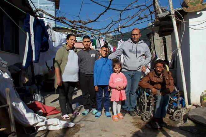 La famille Mehmeti à Tirana. © LG