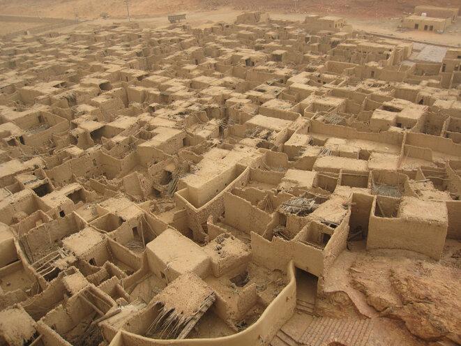 Vue de l'ancienne ville d'Al-Ula, dans la province de Médine.