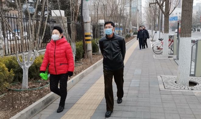 Dans le quartier de Pingguoyuan à Pékin. © DR