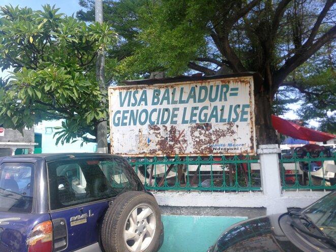À Mutsamudu, la capitale d'Anjouan. © JS
