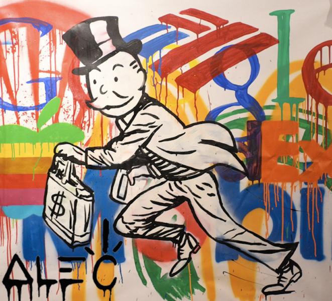 """Corporatism,"" 2013 © Alec Monopoly"