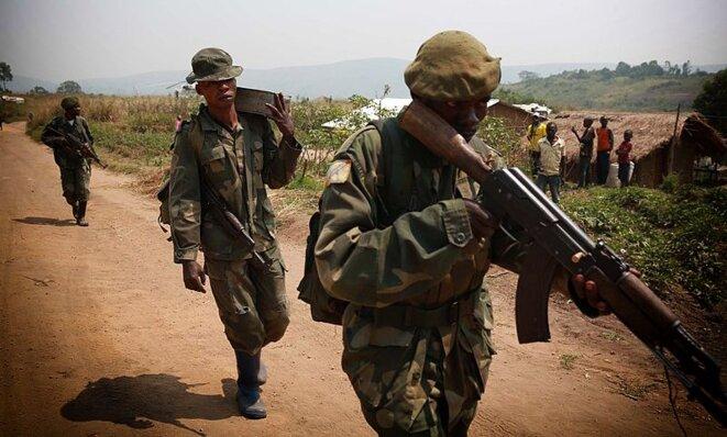 L'armée congolaise en Ituri en 2015 © Monusco