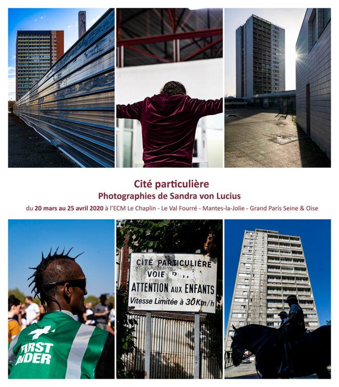 Photo exhibition Cité particulière's poster © Sandra von Lucius