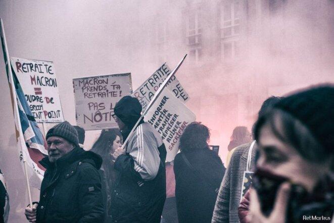 Manifestation à Metz - 20 février 2020 © RetMarkus