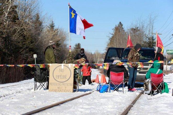 A Moncton dans le Nouveau-Brunswick, le 21 février. © Reuters