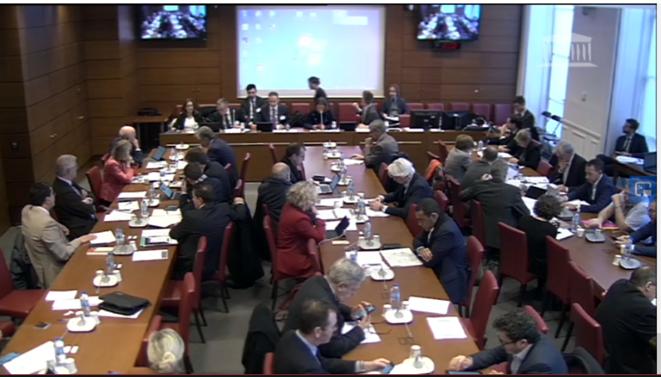 Séance du 12 février de la Commission des finances de l'Assemblée nationale