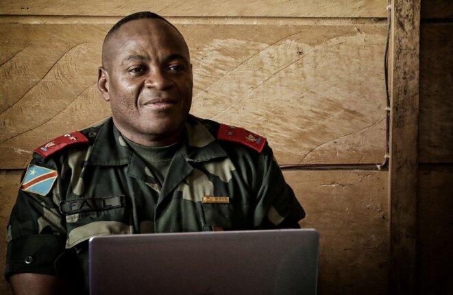 Le général Fall Sikabwe en février 2020 © Monusco